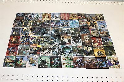 Lot of 89 Batman Master Series Mint Condition DC Skybox Cards