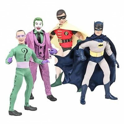 DC Comics Batman Classic 1966 TV Series 8 inch Action Figures Retro Mego