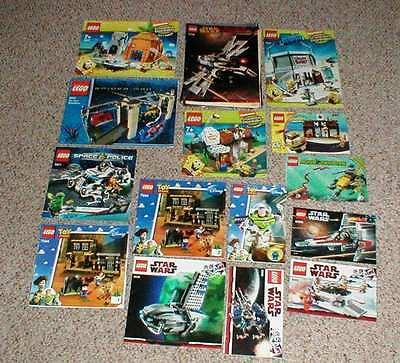 Lot 15 Lego Instructions Manuals Star Wars Imperial Star Destroyer