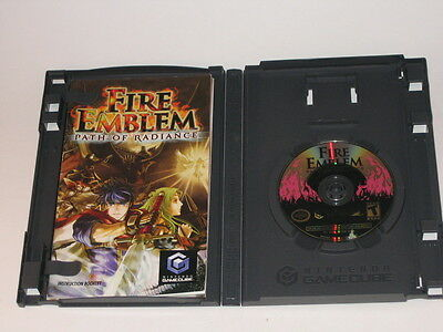 Nintendo Gamecube Fire Emblem Path of Radiance Complete With Manual Non-Working