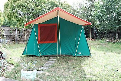 Vintage camping tent Practical Camper 6 man awesome!
