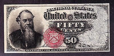 US 50c Stanton Fractional Currency 4th Issue FR 1376 Ch CU -002
