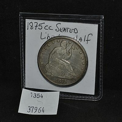 West Point Coins ~ 1875 Carson City Seated Liberty Half Dollar