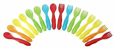 The First Years Take & Toss Toddler Flatware, 16 Piece