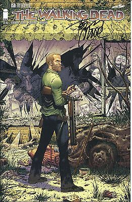 Tony Moore Signed Walking Dead #1 Cover Variant Comic #150 With FE COA Proof