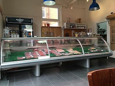 Refrigerated Deli Meat Counter - Display Fridge Cabinet
