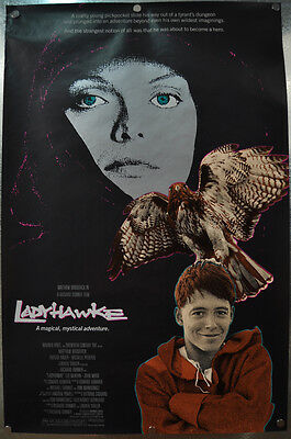 LadyHawke Original SS One Sheet Movie Poster 1984 27 x 40 Rolled