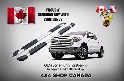 2007-2017 and up Toyota Tundra Running Boards Side Step Bar Nerf Bars