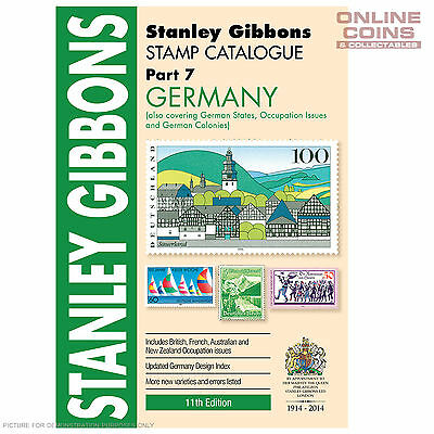 Stanley Gibbons 2014 Germany Part 7, 11th Edition - NEW STOCK IN STORE
