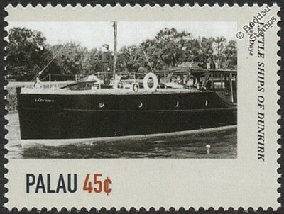 LAZY DAYS Motor Yacht Boat WWII Little Ships of Dunkirk Stamp