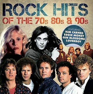 Various Artists - Rock Hits of the 70's 80's & 90's [New CD]