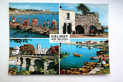Galway City & Salthill Multiview Corrib Hinde 2/117 Used 1971