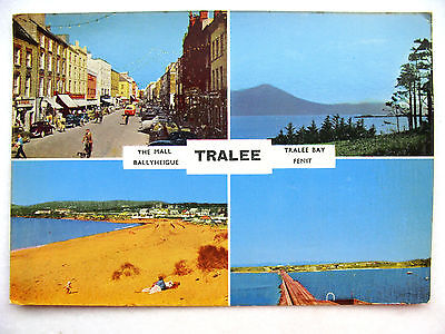 Tralee Co. Galway Multiview Cardall New c.1960 Mall, Ballyheigue, Bay & Feint