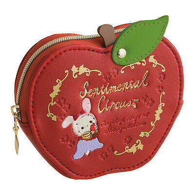 Sentimental Circus Coin Case Pouch Patching Apple Snow White ❤ San-X Japan