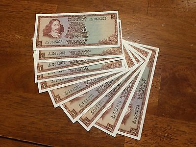 Lot Of 10 Pcs South Africa 1 Rand ( 1967- 1975) Unc Banknote