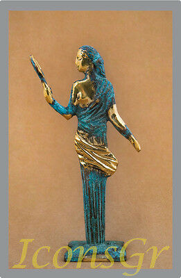 Ancient Greek Sculpture Museum Statue Bronze Aphrodite Venus Goddess Of Beauty