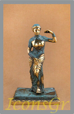 Ancient Greek Sculpture Museum Statue Bronze Aphrodite Of Mylos Venus de Milo