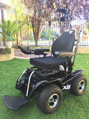 Extreme X8 – 4×4 Electric Power Wheelchair - Magic Mobility