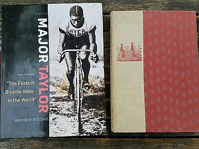 Vintage Cycling Books Major Taylor - Andrew Ritchie And Riding High A.j. Palmer