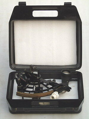 C. Plath Hamburg Germany Marine Ships Boat Yacht Nautical Sextant In Box