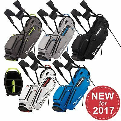 *new For 2017* Taylormade Golf Flextech Stand Bag Mens Carry Bag 5-Way Divider