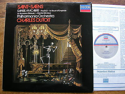 SXL 6975 SAINT-SAENS: DANSE MACABRE  DUTOIT / PHILHARMONIA    AS List    NM
