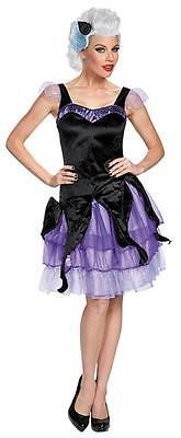 URSULA DISNEY VILLIAN LITTLE MERMAID COSTUME Halloween Cosplay Fancy Dress W4