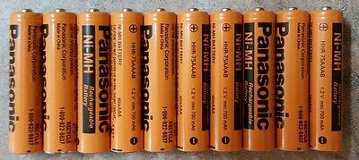 Aaa Panasonic Rechargeable Batteries New 10 Pack