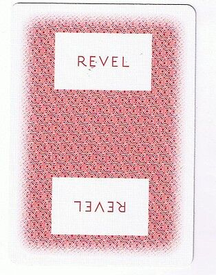 Revel Casino - Atlantic City - Deck Of 52 Casino Playing Cards & Jokers &box Red