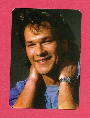 Patrick Swayze Movie Star Collectible Card 1993; Outsiders, Dirty Dancing, Ghost
