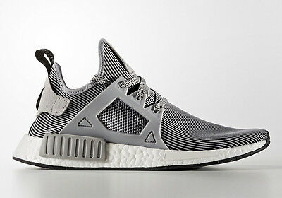 46e3195f16721 Adidas NMD XR1 Primeknit PK Nomad Boost Light Granite Grey Vintage White  S32218