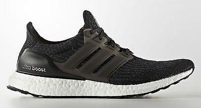 470866a21e5d31 NEW ADIDAS ULTRA Boost 3.0 Reflective Black BA8842 LIMITED all sizes ...