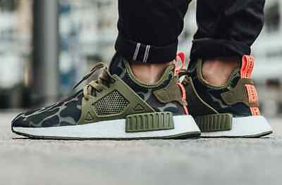 more photos 0a791 cf328 ADIDAS NMD_XR1 OLIVE Green Duck Camo BA7232 NMD XR1 Men Size