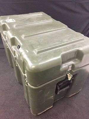 HARDIGG 33x21x20 Shipping Container Hard Case Waterproof Military Grade Hinged