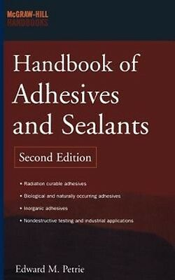 Handbook of Adhesives and Sealants by Edward M. Petrie Hardcover Book (English)