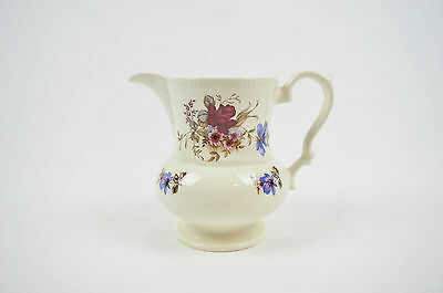 Lord Nelson Pottery England Floral Pattern Pitcher