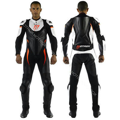 Motorbike Motorcycle  Motrox Leather Racing Suit Every Color&size Ce Armour