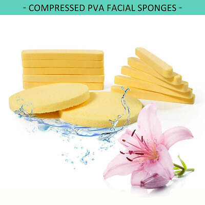 240 Pcs PVA Facial Cleansing Sponges for Salon and Spa Professionals (S0001x20)