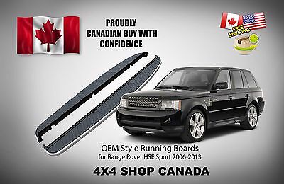 2006-2013 Range Rover Sport HSE with side  Nerf Bar Side Step bar Running Boards