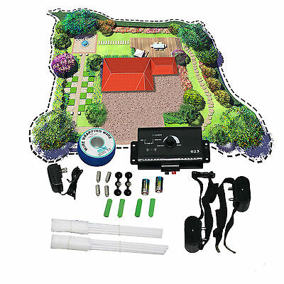 New Pet Underground Shock Collar Dog Electric Fence for 1 or 2 or 3 Dog