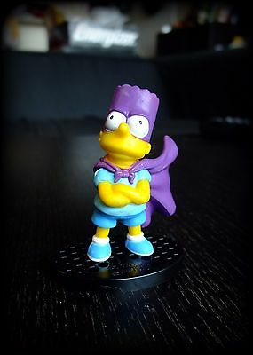 The Simpsons Figurine by Monogram - BARTMAN SIMPSON with cape - brand new