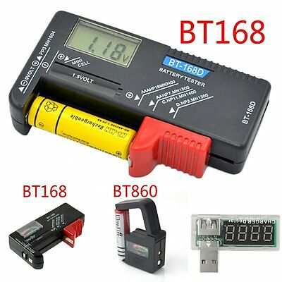 AA AAA C D 9V 1.5V Universal Button Cell Battery Volt Tester Checker Indicator M