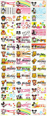 Personalized Waterproof Name labels stickers, 36 Disney , day care, school,