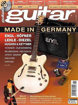 guitar - magazin für gitarristen und bassisten mit playalong CD Workshops Tests