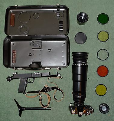 Original Vintage PHOTOSNIPER 12 Full Set in Perfect Condition Camera Telelens