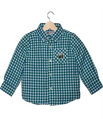 Tractor Ted Check Shirt - GREEN *SPECIAL DISCOUNT OFFER £12*