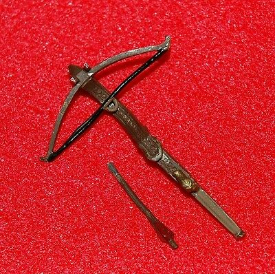 Crossbow ~ 1/12th Scale ~ Ideal For Any Unusual Dolls House Or Miniature Project