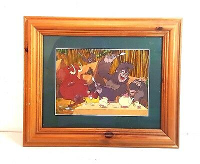 """Framed & Matted 2000 Disney  Lion King Lithograph 14.75 X 17.75"""" Must See"""