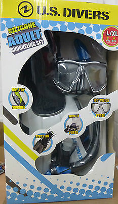US U.S Divers Silicone Adult Snorkelling Set. Brand New In Box.
