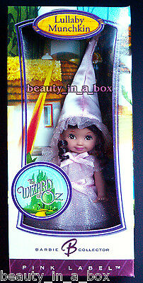 Lullaby Munchkin Kelly Doll Wizard of Oz Barbie Pink Label Rare EXC